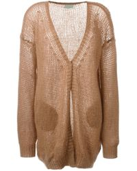 Forte Forte - Brown Oversized Cardigan - Lyst