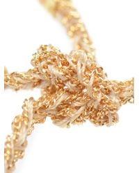 Carolina Bucci - Metallic 'Peace' Woven Gold And Silk Bracelet - Lyst