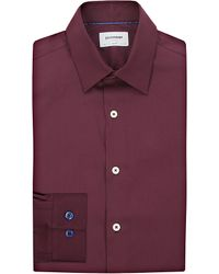 Duchamp | Purple Iconic Slim-fit Cotton Shirt - For Men for Men | Lyst