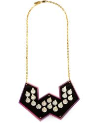 Sarah Angold Studio - Metallic Spiked Necklace - Lyst