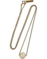 Isabel Marant - Green Necklace - Lyst