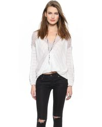 Free People - White Free People - Black - Lyst