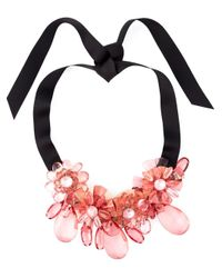 P.A.R.O.S.H. | Pink 'pinnek' Necklace | Lyst