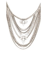 Lisa Freede | Metallic Kingsley Necklace | Lyst