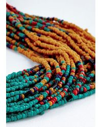 Ana Accessories Inc | Multicolor Couldnt Bead More Colorful Necklace | Lyst