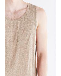 BDG - Gray Speckled Tank Top for Men - Lyst