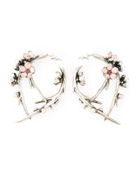 Shaun Leane - Metallic 'cherry Blossom' Rhodalite Earrings - Lyst