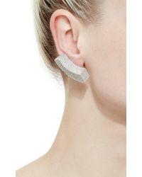 Vhernier | Metallic Dondolo Pave Diamonds Earrings | Lyst