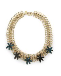 Marc By Marc Jacobs - Metallic Palm Choker Necklace - Lyst