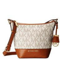 MICHAEL Michael Kors | Brown Bedford Small Messenger | Lyst
