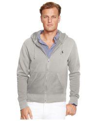Polo Ralph Lauren | Gray Big And Tall Full-zip Classic Fleece Hoodie for Men | Lyst
