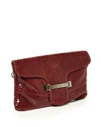Moda In Pelle | Red Zoeyclutch Occasion Handbag | Lyst