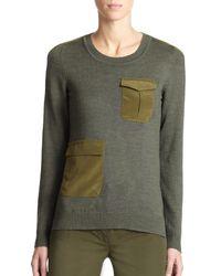 Altuzarra   Green Radley Cargo Sweater   Lyst