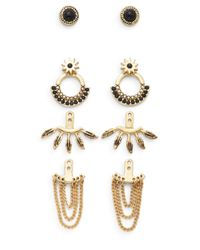 BCBGeneration | Metallic 7/25 Earring Jacket Kit Recolor Set | Lyst