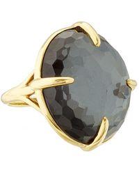 Ippolita | Metallic Gold Black Hematite Big Rock Candy Gelato Ring | Lyst