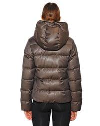 Duvetica | Brown Thiadue Cinzato Wool Blend Down Jacket | Lyst