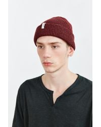 Coal | Purple The Frena Solid Beanie for Men | Lyst