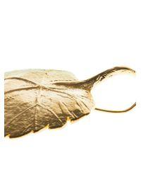 Aurelie Bidermann - Metallic 'Central Park' Earrings - Lyst