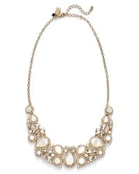 kate spade new york | Metallic 'butter Up' Bib Necklace - Cream Multi | Lyst