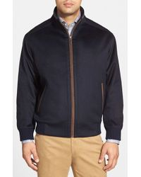 Peter Millar | Blue 'patrick' Water Resistant Wool Blend Jacket for Men | Lyst