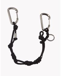 DSquared² - Black Bungy Jump Chain for Men - Lyst