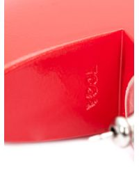 Toga - Red Chunky Earrings - Lyst