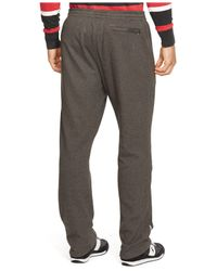 Polo Ralph Lauren | Gray Interlock Track Pants for Men | Lyst