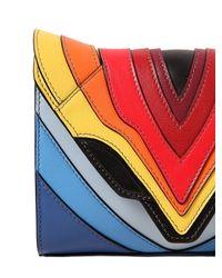 Elena Ghisellini | Multicolor Felina Rainbow Leather Shoulder Bag | Lyst