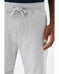Forever 21 - Gray Speckled Zip-pocket Sweatshorts for Men - Lyst