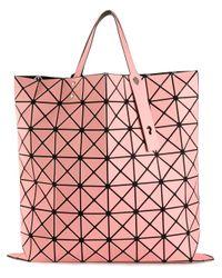 Bao Bao Issey Miyake | Pink 'W' Geometric Tote | Lyst