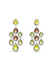 David Yurman | Yellow Chandelier Earrings | Lyst