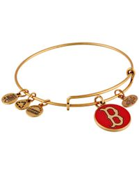 ALEX AND ANI | Metallic Mlb® Boston Red Sox™ Charm Bangle | Lyst