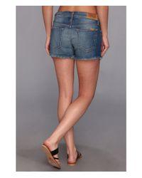 Joe's Jeans - Blue Sun Faded Easy Cut Off Short in Mariela - Lyst