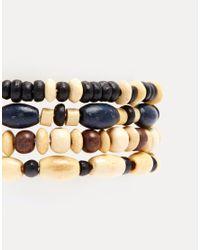 ASOS - Brown Bandana And Bracelet Pack for Men - Lyst