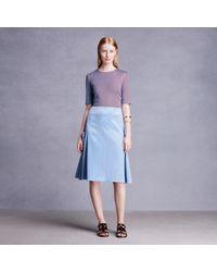 Trademark | Blue Side Tie Skirt | Lyst