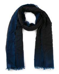 Faliero Sarti - Blue Sfumy Degradé Scarf - Lyst
