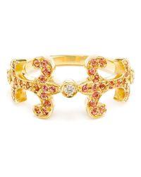Sabine G - Metallic 'oona' Diamond Ring - Lyst