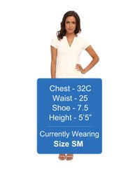 Nanette Lepore - White Lecture Hall Dress - Lyst