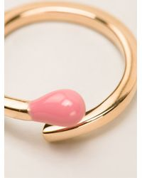 Stella McCartney | Pink Matchstick Ring | Lyst