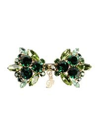 DSquared² - Green Brooch - Lyst