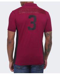 La Martina | Purple Slim Fit Maserati Polo Shirt for Men | Lyst