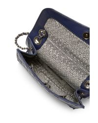 Rebecca Minkoff | Blue Mini Quilted Affair | Lyst