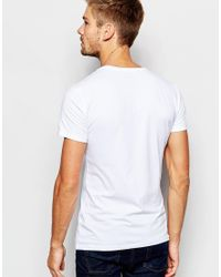 Blend | T-shirt 2 Pack Basic White/white for Men | Lyst