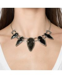 Pamela Love | Black Arrowhead Collar | Lyst