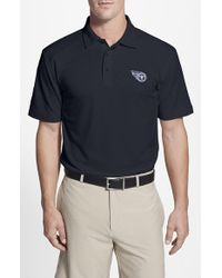 Cutter & Buck | Blue 'tennessee Titans - Genre' Drytec Moisture Wicking Polo for Men | Lyst