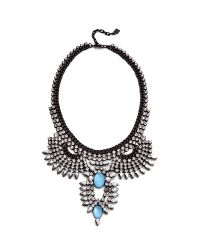 DANNIJO | Blue Izzie Necklace | Lyst