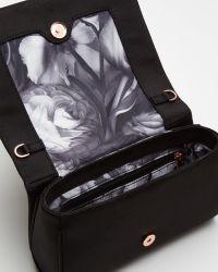 Ted Baker - Black Bow Detail Clutch Bag - Lyst