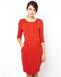 Darling - Red Bethany Dress - Lyst