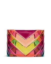 Valentino   Multicolor '1973' Plexiglass Cuff   Lyst