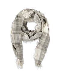 Forever 21 | Gray Classic Plaid Scarf | Lyst